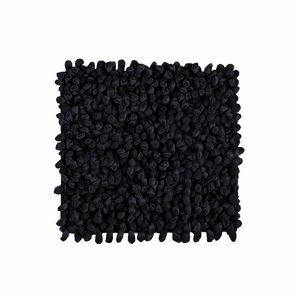 Aquanova Rocca badmat 60x60 cm zwart