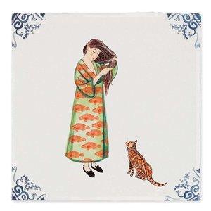StoryTiles Maak dat de kat wijs tegel small