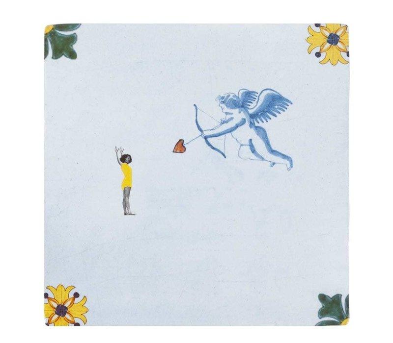 tegel Cupido Small 10x10cm