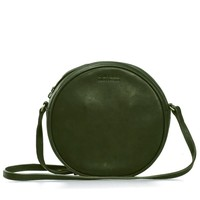 Luna handtas - soft grain leather green