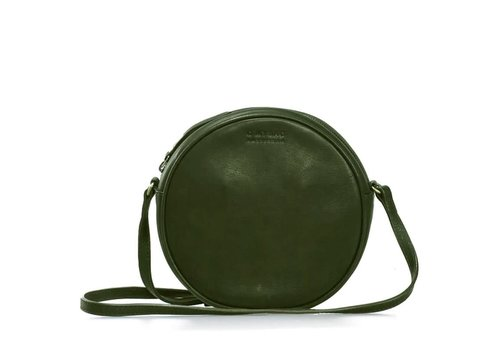 O My Bag Luna handtas - soft grain leather green