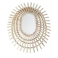 Spiegel riet 54 x 64 cm