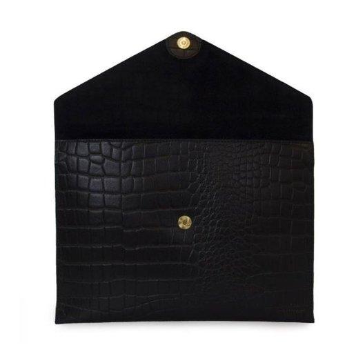 "O My Bag Pol's portfolio laptophoes 12/13"" - classic leather black croco"