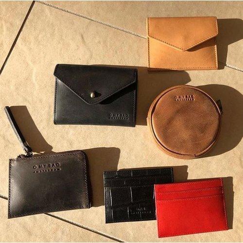 O My Bag Josie's portefeuille - hunter leather dark brown