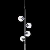 Orb lounge hanglamp mat zwart