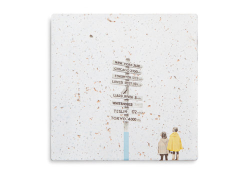 StoryTiles tegel Globetrotters Small 10x10cm