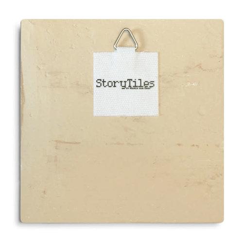 StoryTiles tegel Globetrotters Small 10x10cm