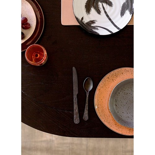 HK Living Bestek mat zwart - set van 3