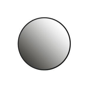 WOOOD Lauren spiegel metaal zwart diameter 56 cm