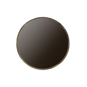 WOOOD Lauren spiegel metaal antieke messing diameter 100 cm