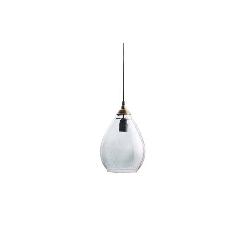 BePureHome Simple hanglamp glas medium antique grijs