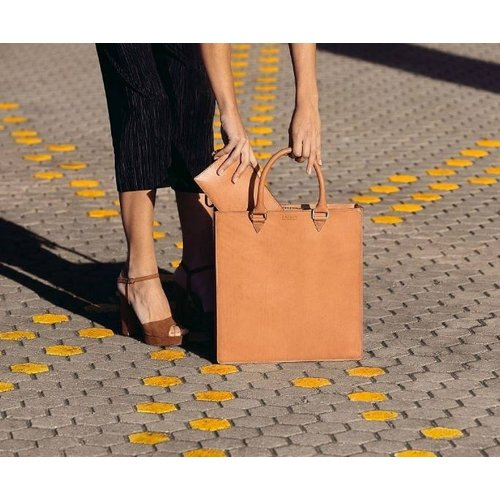 O My Bag Travel wallet reisportefeuille - classic leather cognac