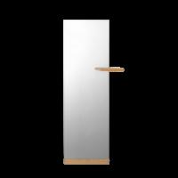 Shift vloerspiegel met plank