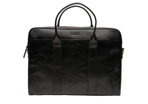 O My Bag The harvey werktas -  classic leather black