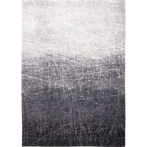 Louis De Poortere Rugs Fahrenheit wind chill grey tapijt Mad Men Collection