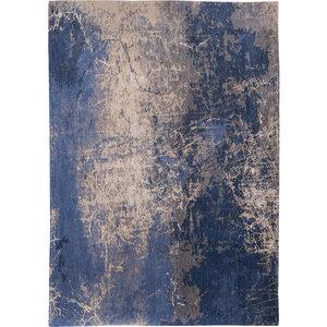 Louis De Poortere Rugs Cracks abyss blue tapijt Mad Men Collection