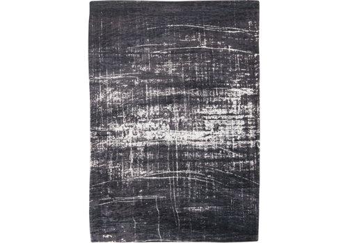 Louis De Poortere Rugs Griff white on black tapijt Mad Men Collection