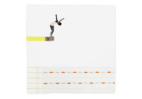 StoryTiles tegel Een sprong in het diepe small 10x10cm
