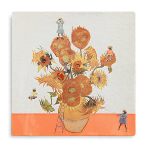 StoryTiles The sunflower expedition tegel small