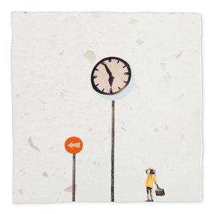 StoryTiles tegel Waar ga je heen? small 10x10 cm