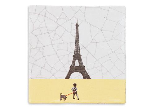 StoryTiles tegel Parijs small 10x10 cm