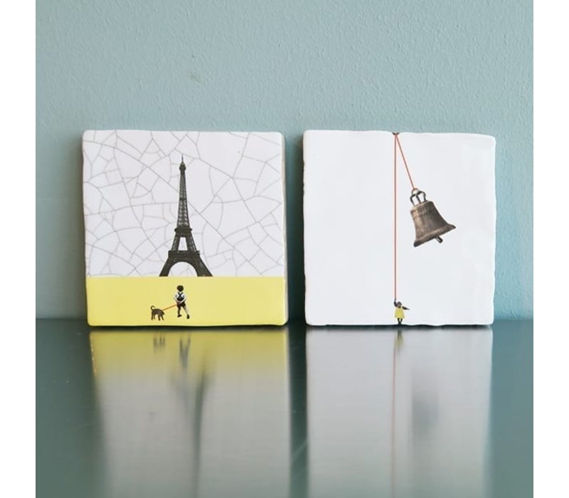tegel Parijs small 10x10 cm