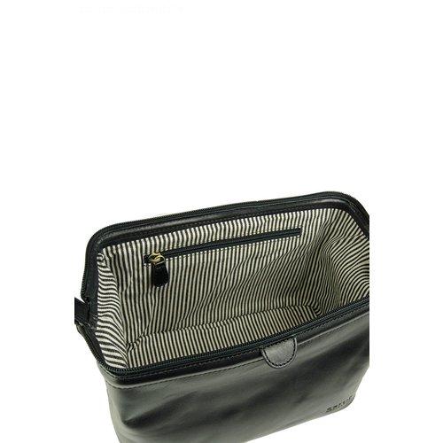 O My Bag Harvey's toilettas - classic leather black