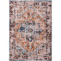 Antique Heriz seray orange tapijt Antiquarian Collection
