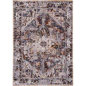 Louis De Poortere Rugs Antique Heriz divan blue tapijt Antiquarian Collection