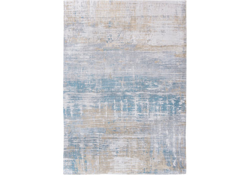 Louis De Poortere Rugs Streaks long island blue tapijt Atlantic Collection