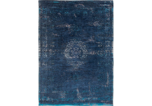 Louis De Poortere Rugs Medallion blue night tapijt Fading World Collection