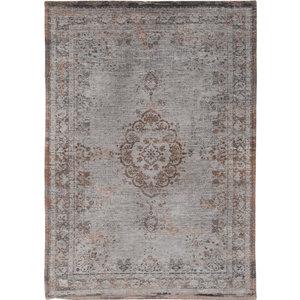 Louis De Poortere Rugs Medallion grey ebony tapijt Fading World Collection