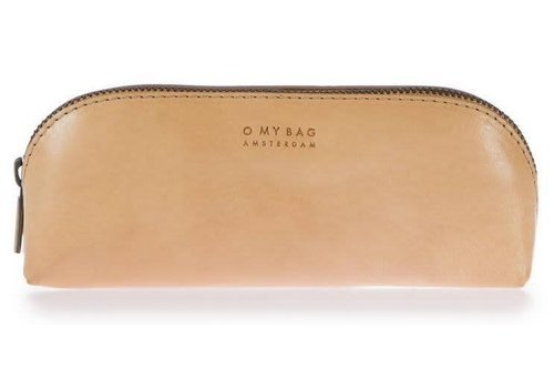 O My Bag Pennenzak large - classic leather naturel