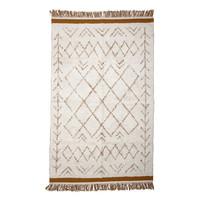Collected tapijt witte katoen 120 x 200
