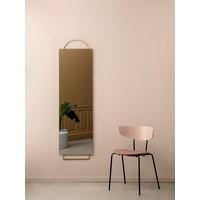 Adorn spiegel full-size messing