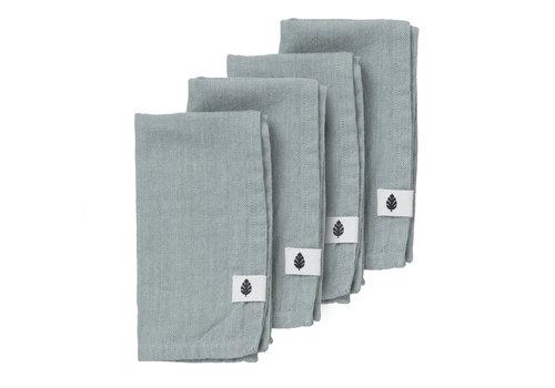 Bungalow Saara servet celadon 45 x 45 cm (4stuks)