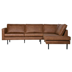 BePureHome Rodeo hoeksofa rechts recycle leer