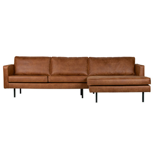 BePureHome Rodeo chaise longue rechts recycle leer
