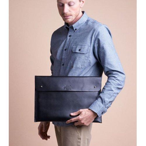 "O My Bag Laptophoes 15"" - hunter leather black"