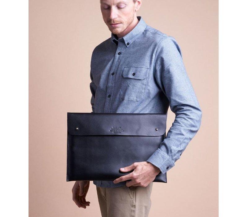 "Laptophoes 15"" - hunter leather black"