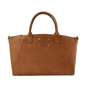 O My Bag Fly Violet midi handtas - hunter leather camel