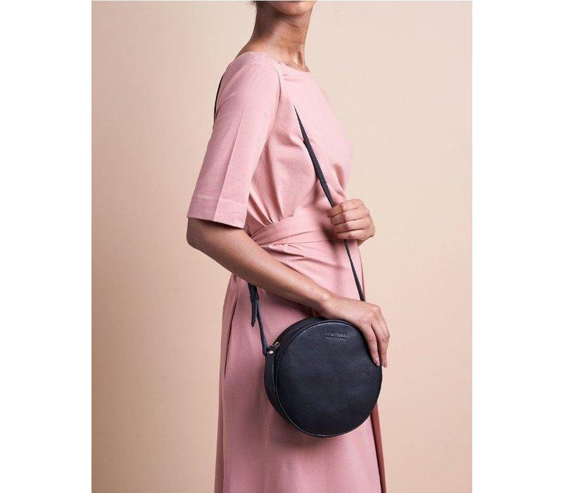 Luna handtas - soft grain leather black