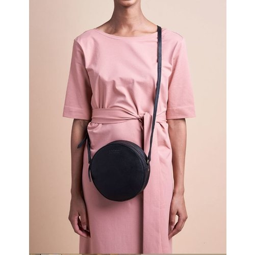 O My Bag Luna handtas - soft grain leather black