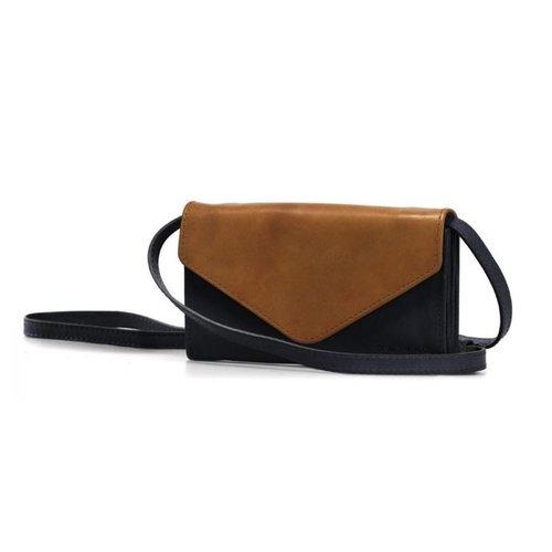 O My Bag Josephine handtas classic - black/cognac