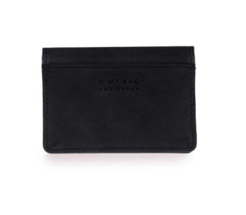 Multiple kaarthouder - classic leather black