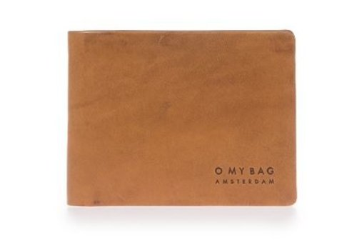 O My Bag Joshua's portefeuille - classic leather cognac