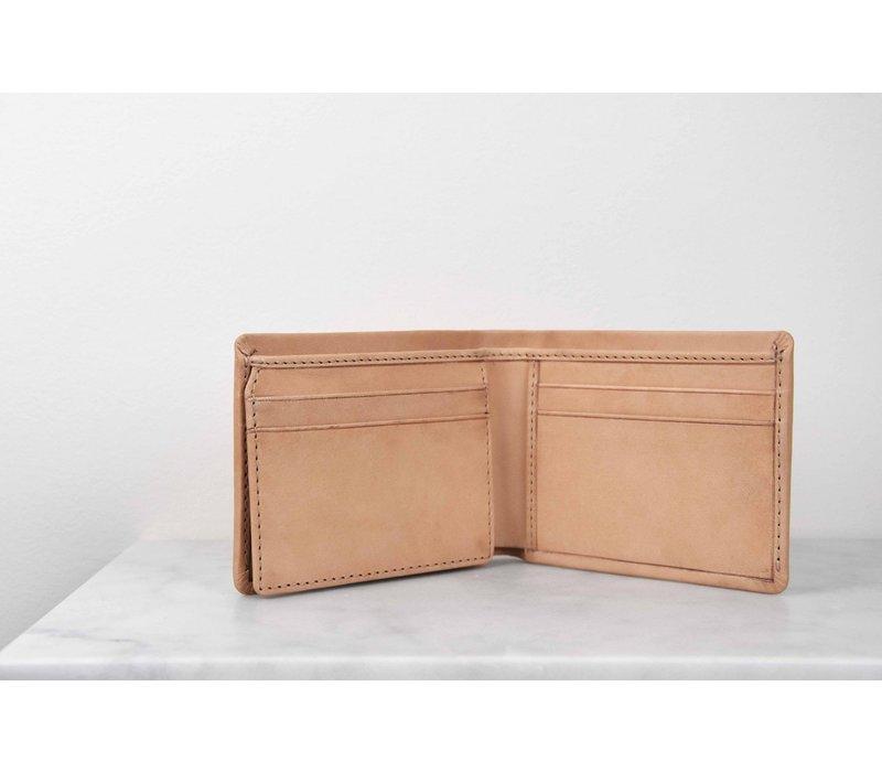Joshua's portefeuile - classic leather natural