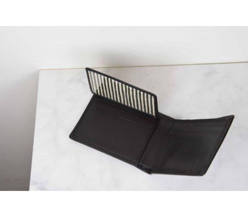 Joshua's portefeuile - classic leather black