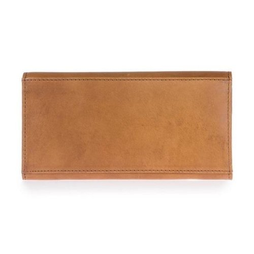 O My Bag Pixie enveloppe portefeuille- classic leather cognac