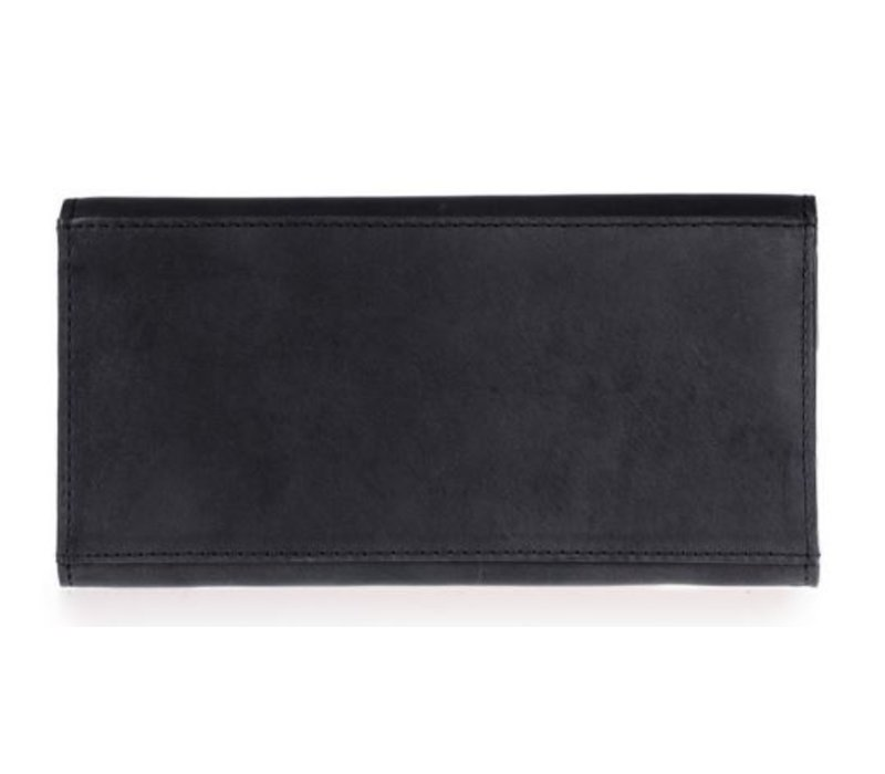 Pixie enveloppe portefeuille - classic leather black
